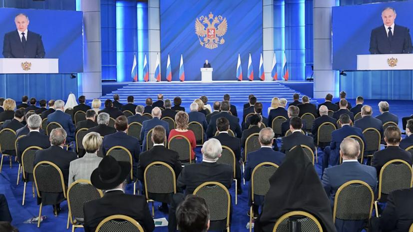 Песков:поручения по итогам послания президента парламенту подготовят оперативно