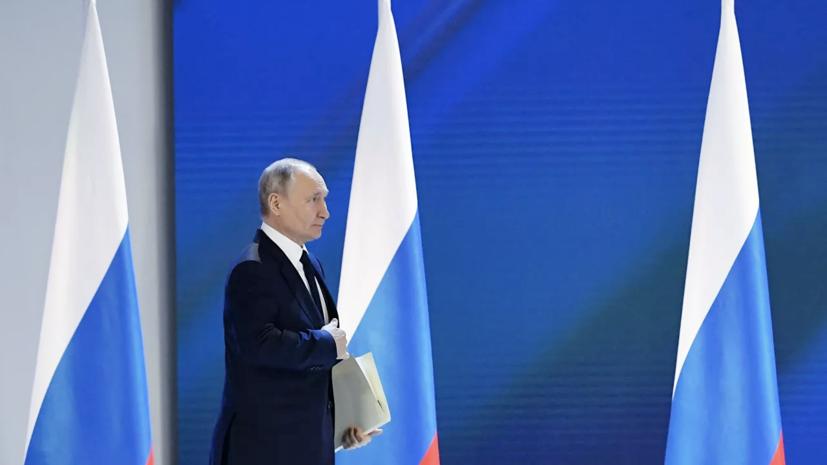 Путин рассказал о доле современного оружия в ядерной триаде России