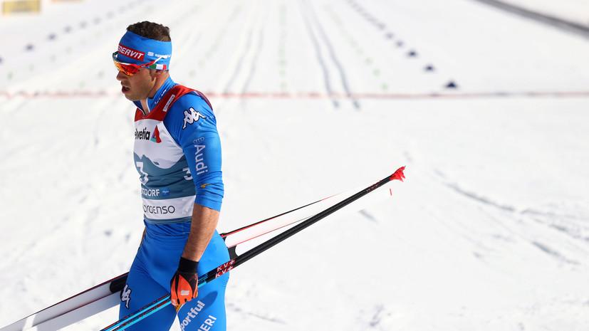 Итальянские лыжники Пеллегрино и Де Фабиано будут тренироваться со сборной России в группе Крамера