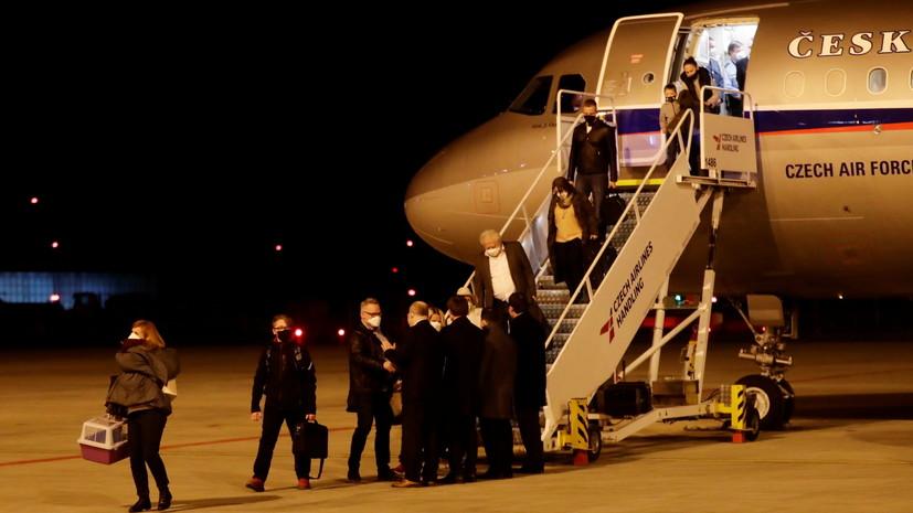 Чехия потребовала от России вернуть высланных чешских дипломатов в Москву
