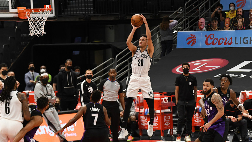 28 очков Ирвинга не спасли «Бруклин» от поражения «Торонто» в матче НБА