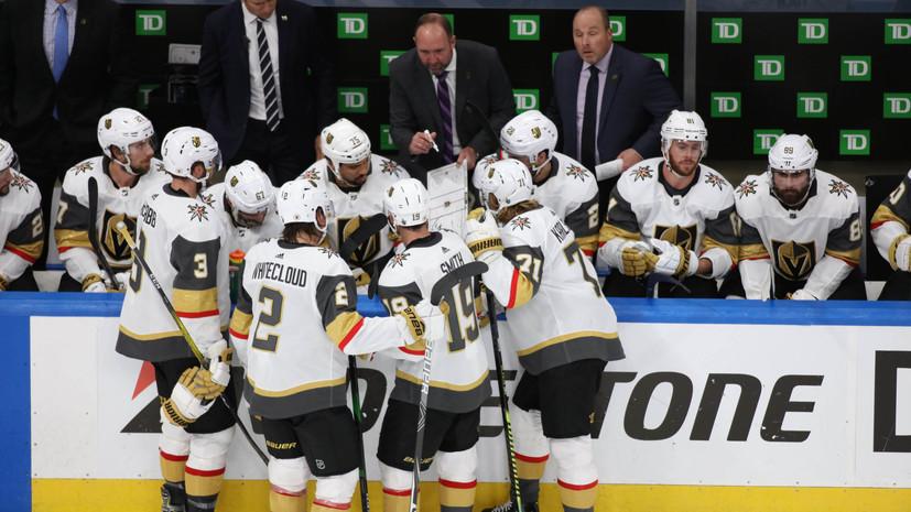 «Вегас» разгромил «Сан-Хосе» и вышел в плей-офф НХЛ