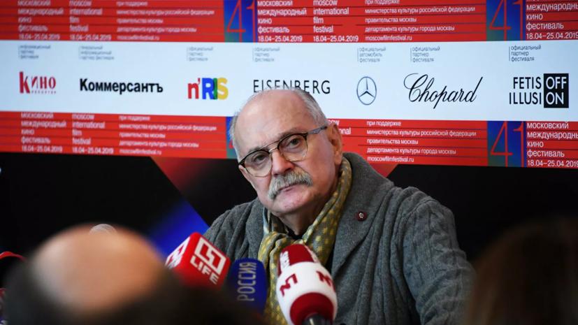 Михалков рассказал о подготовке спектакля «12» в Большом театре