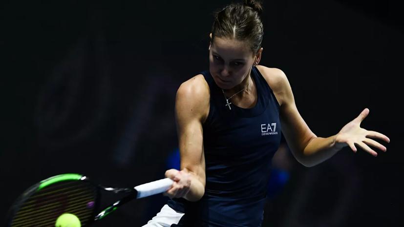 Кудерметова победила Канепи и вышла в четвертьфинал турнира WTA в Стамбуле
