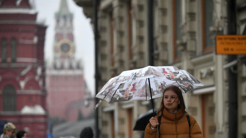 Синоптики прогнозируют ливень в Москве