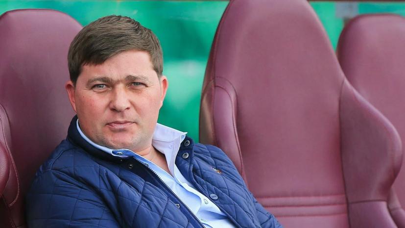 Голубев назвал Стукалова весёлым, умным и заводным тренером