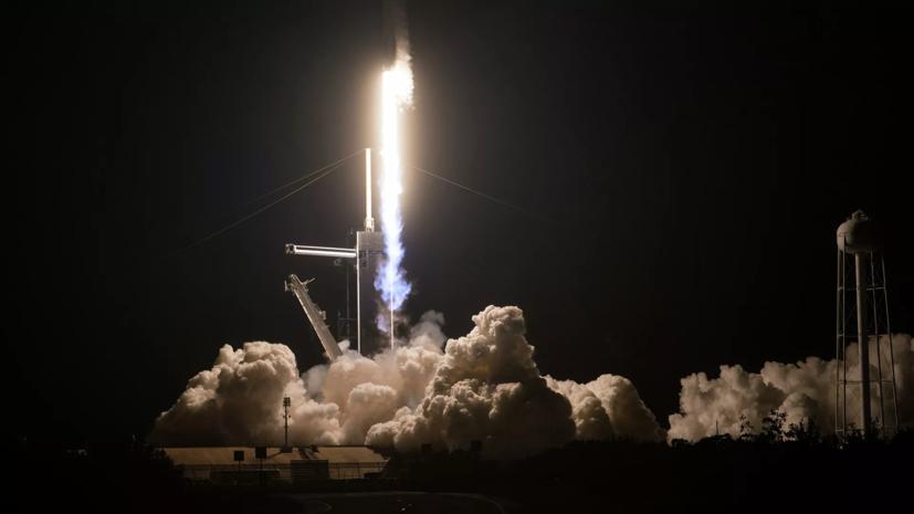 Пилотируемый космический корабль Crew Dragon-2 стартовал к МКС