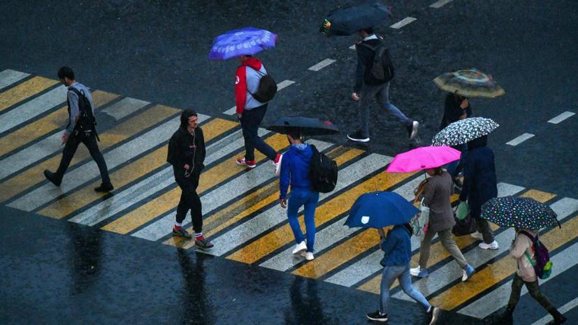 МЧС предупредило о дожде, граде и ветре с порывами до 17 м/с в Москве