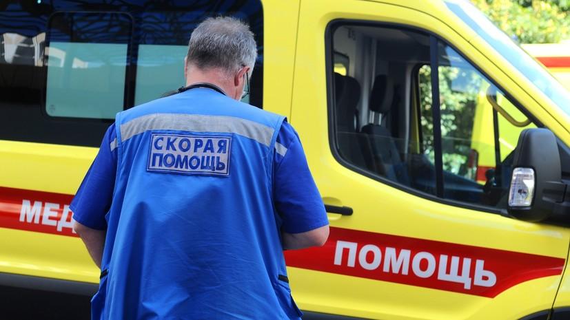В Москве школьницу госпитализировали после падения на неё дерева