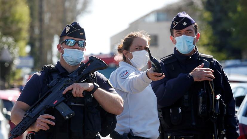 Три человека задержаны после убийства сотрудницы полиции под Парижем