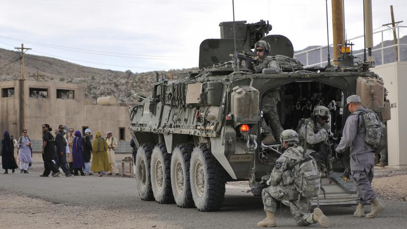 США оставили близ Афганистана авианосец