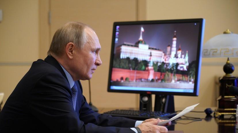 В Кремле рассказали о графике Путина на майские нерабочие дни