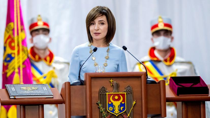 МИД Украины выразил поддержку Санду в ситуации с роспуском парламента
