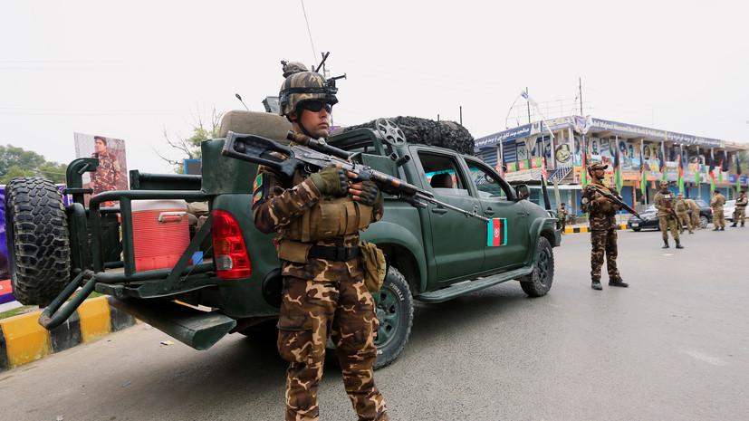 В Афганистане оценили борьбу военных с талибами