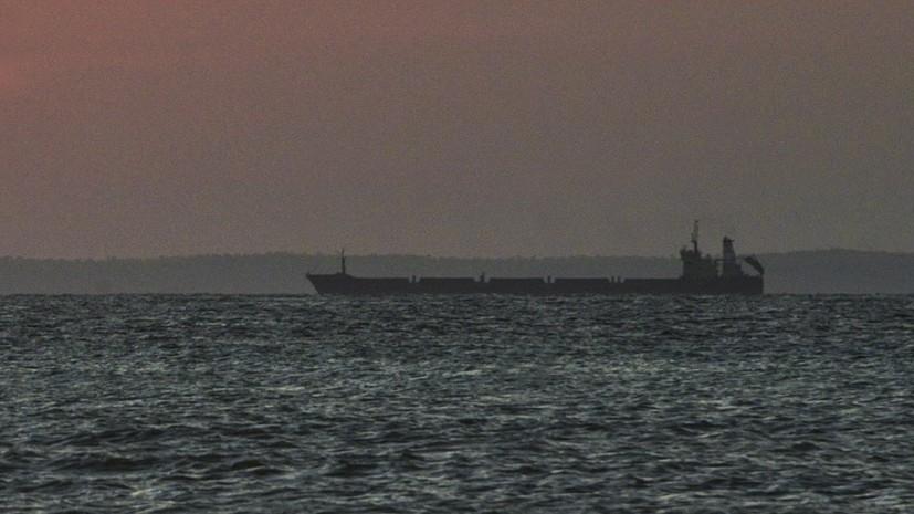 SANA: на нефтяном танкере в Сирии произошёл пожар