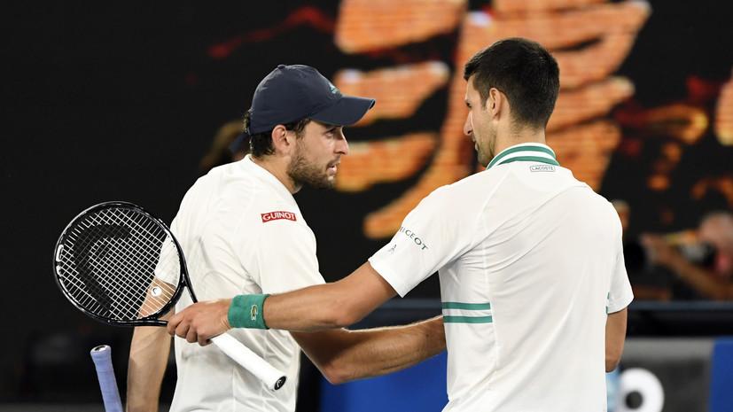 Карацев победил Джоковича и вышел в финал турнира ATP в Белграде