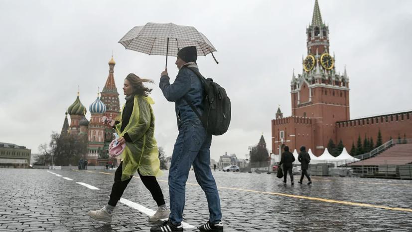 С начала апреля в Москве выпало около 200% месячной нормы осадков