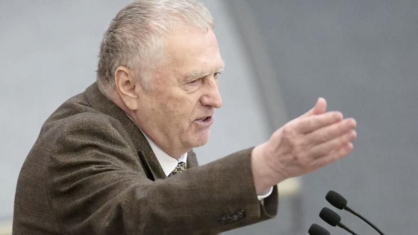 Жириновский награждён орденом «За заслуги перед Отечеством» I степени