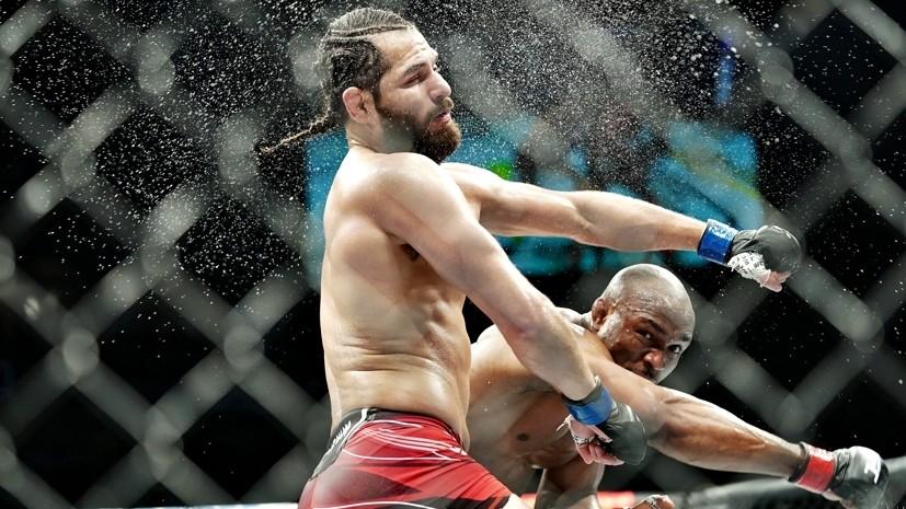 Сокрушительный нокаут Усмана, эффектный хай-кик Намаюнас и страшная травма Вайдмана: чем запомнился UFC 261