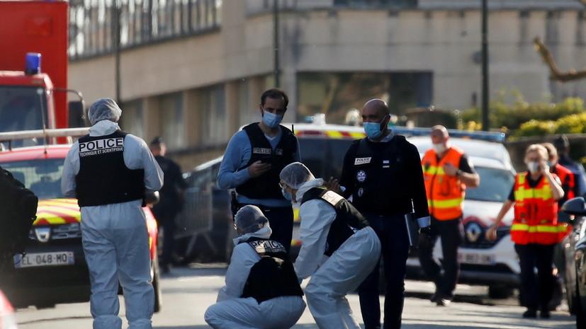 Пять человек задержаны по делу об убийстве сотрудницы полиции во Франции