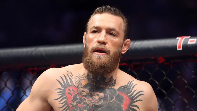 Макгрегор заявил о намерении подраться с Усманом и завоевать пояс UFC в полусреднем весе