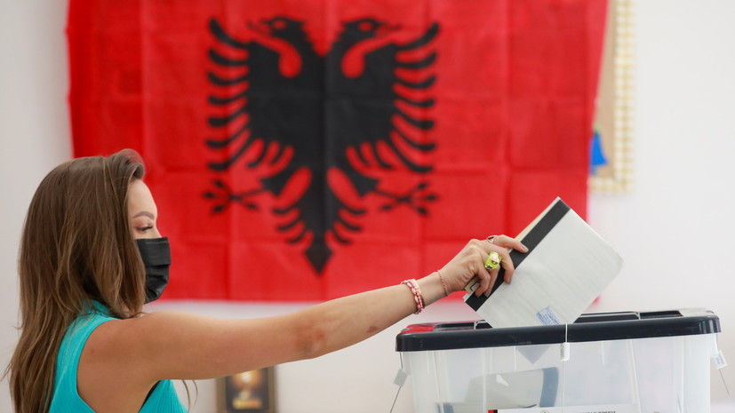 В Албании закрылись участки для голосования на парламентских выборах
