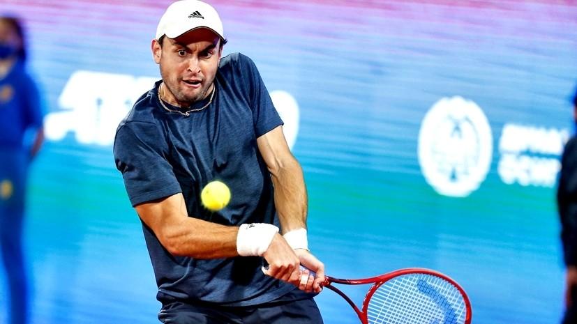 Неудача в финале после главной победы в карьере: Карацев обыграл Джоковича, но остался без трофея на турнире в Белграде