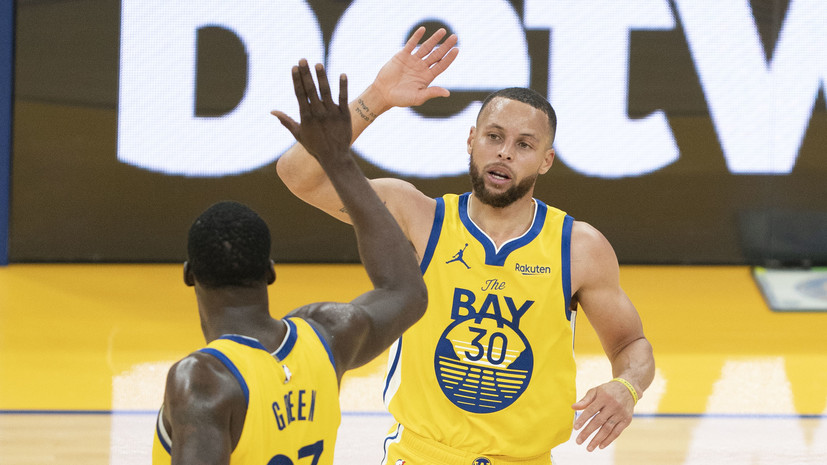 «Голден Стэйт» обыграл «Сакраменто», Карри набрал 37 очков и установил рекорд НБА