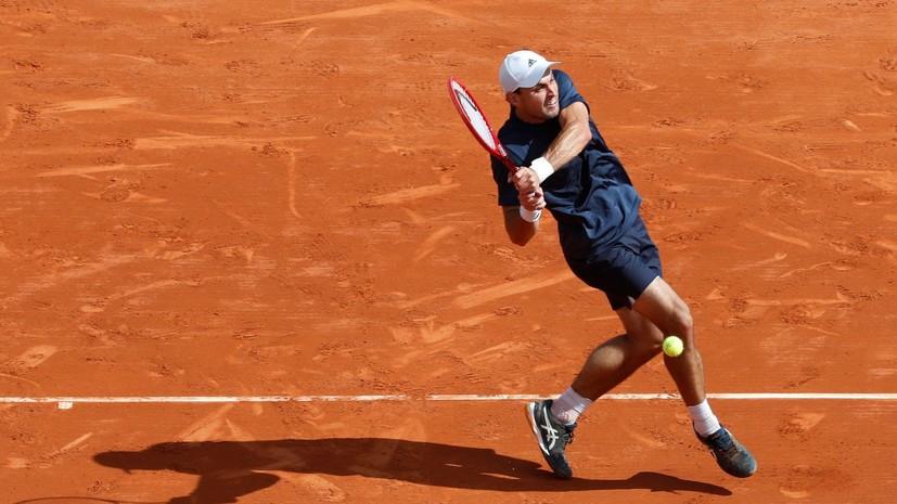 Карацев прокомментировал поражение от Береттини в финале турнира АТР в Белграде