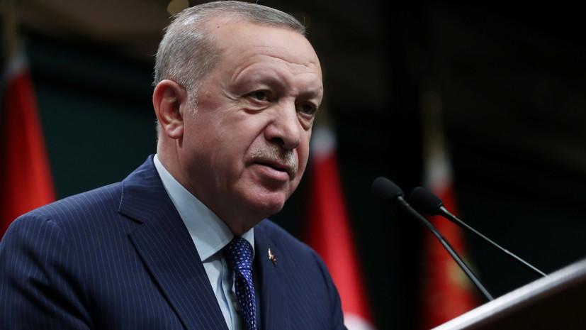 Эрдоган прокомментировал заявление Байдена о геноциде армян