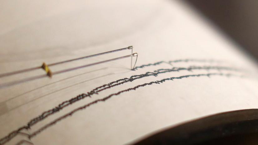 Землетрясение магнитудой 5,8 зафиксировано в акватории Тихого океана