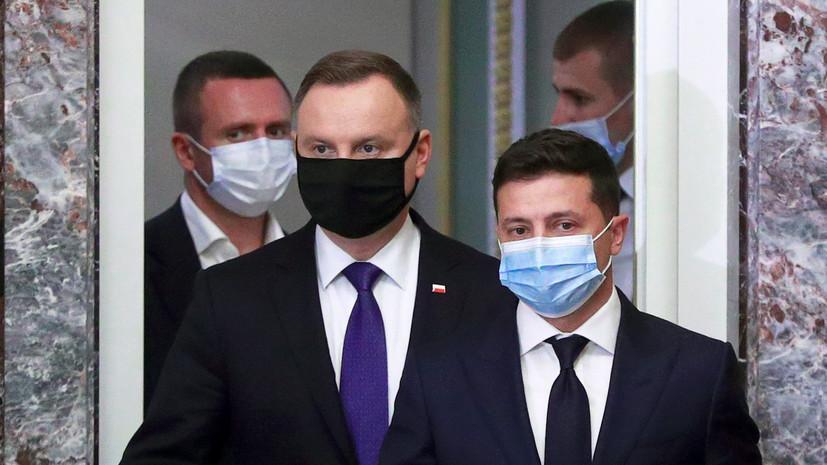 Зеленский и Дуда проведут встречу в Польше 3 мая