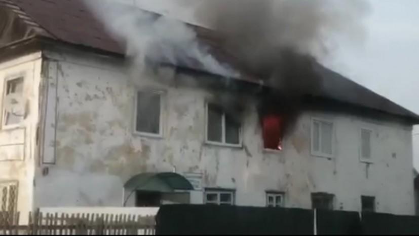 В Хакасии задержали мать троих погибших при пожаре малолетних детей