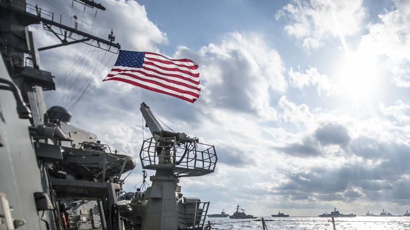 Корабль ВМС США открыл предупредительный огонь из-за иранских катеров