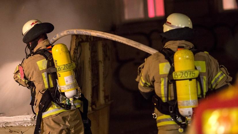 При пожаре в хостеле в центре Риги погибли восемь человек
