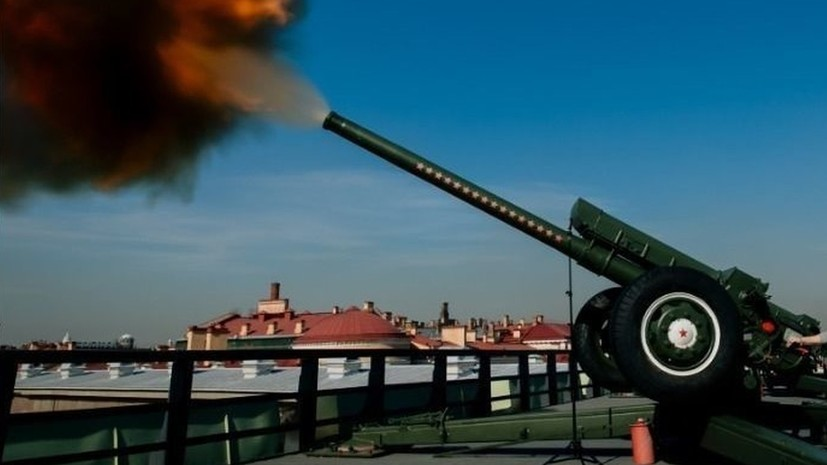 В Петербурге дадут залп из пушки в честь Дня работника скорой помощи