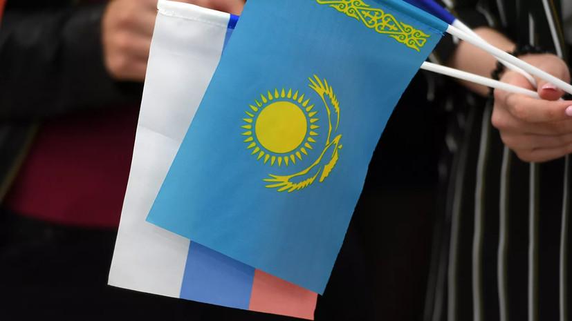 Россия и Казахстан подписали программу экономического сотрудничества