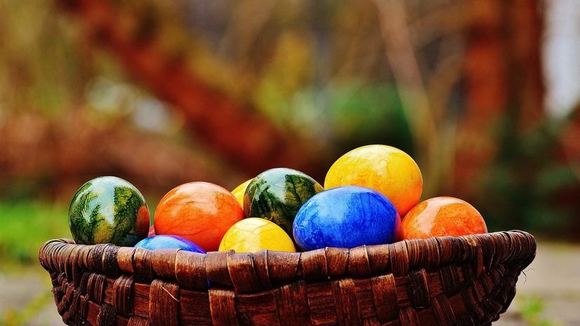 В Росконтроле рассказали о безопасных способах окрашивания яиц на Пасху
