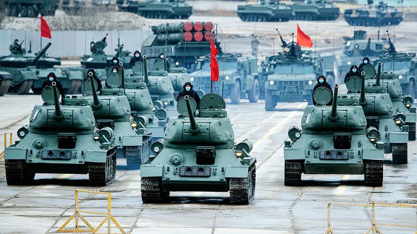 «Дань памяти и напоминание о силе нашего оружия»: как идёт подготовка к параду Победы на Красной площади