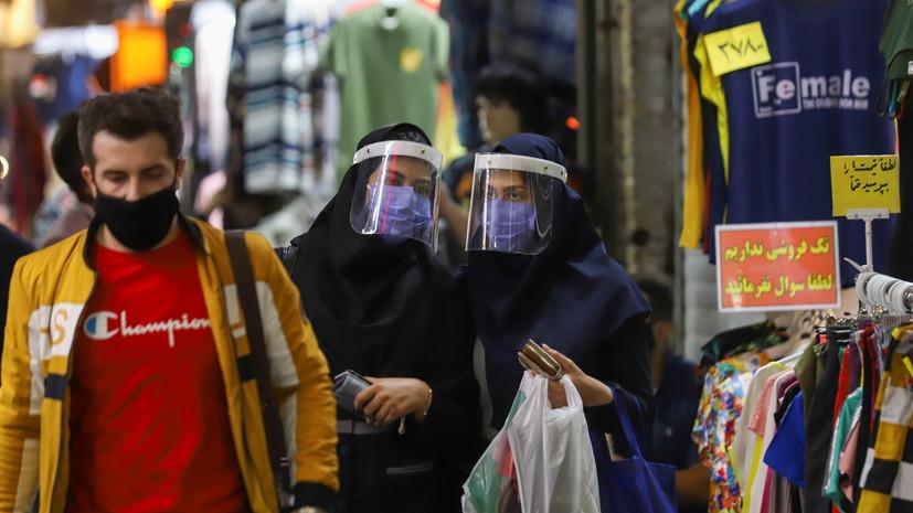 В Иране создали спрей против коронавируса
