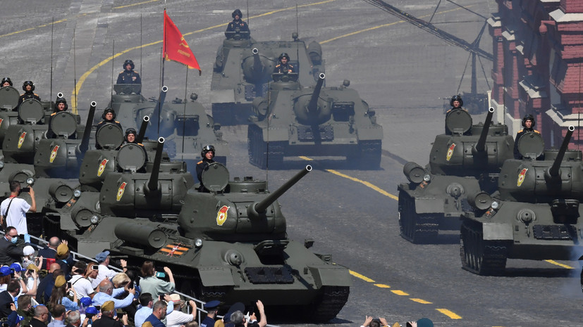Минобороны опубликовало порядок проезда техники и пролёта авиации на параде в Москве