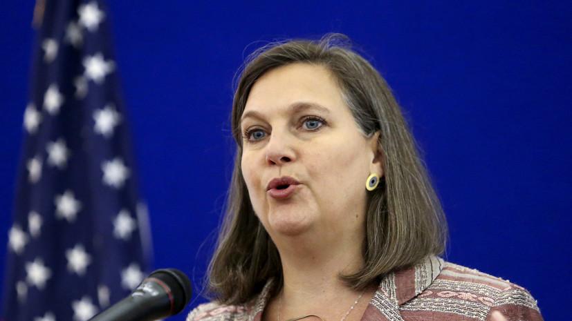 Сенат США утвердил кандидатуру Нуланд на пост замгоссекретаря