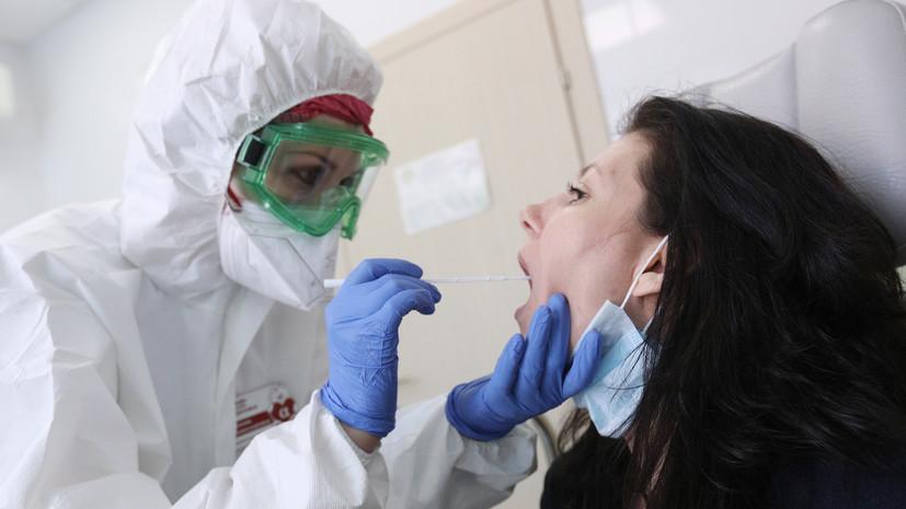 В России за сутки выявили 8731 случай коронавируса