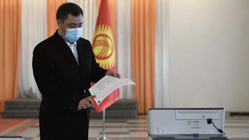 Президенты Киргизии и Таджикистана провели телефонные переговоры