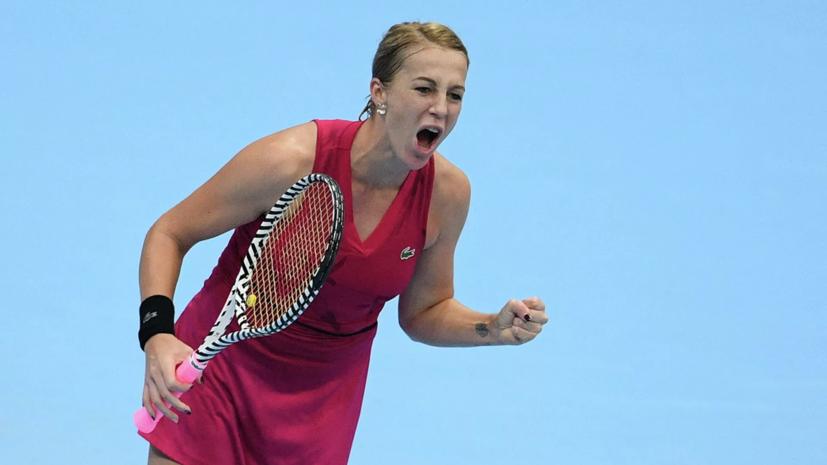 Павлюченкова обыграла Киса и вышла во второй раунд турнира WTA в Мадриде