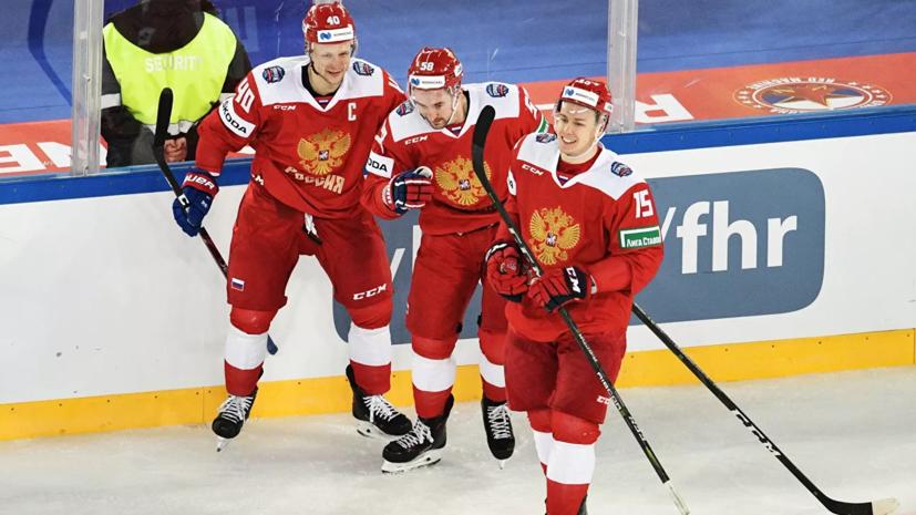 Сборная России уступила Швейцарии в матче Еврочелленджа