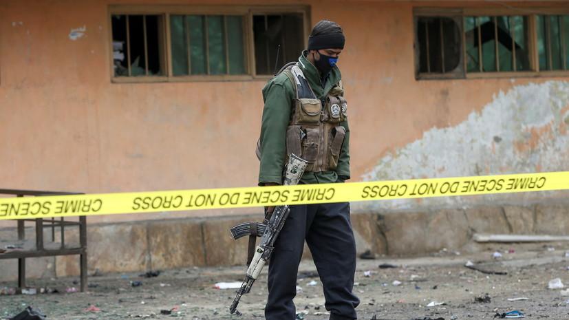 МВД Афганистана сообщило о 21 погибшем при взрыве в провинции Логар