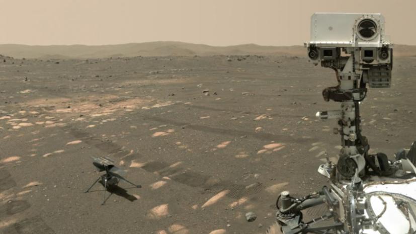 Четвёртый полёт вертолёта Ingenuity на Марсе прошёл успешно