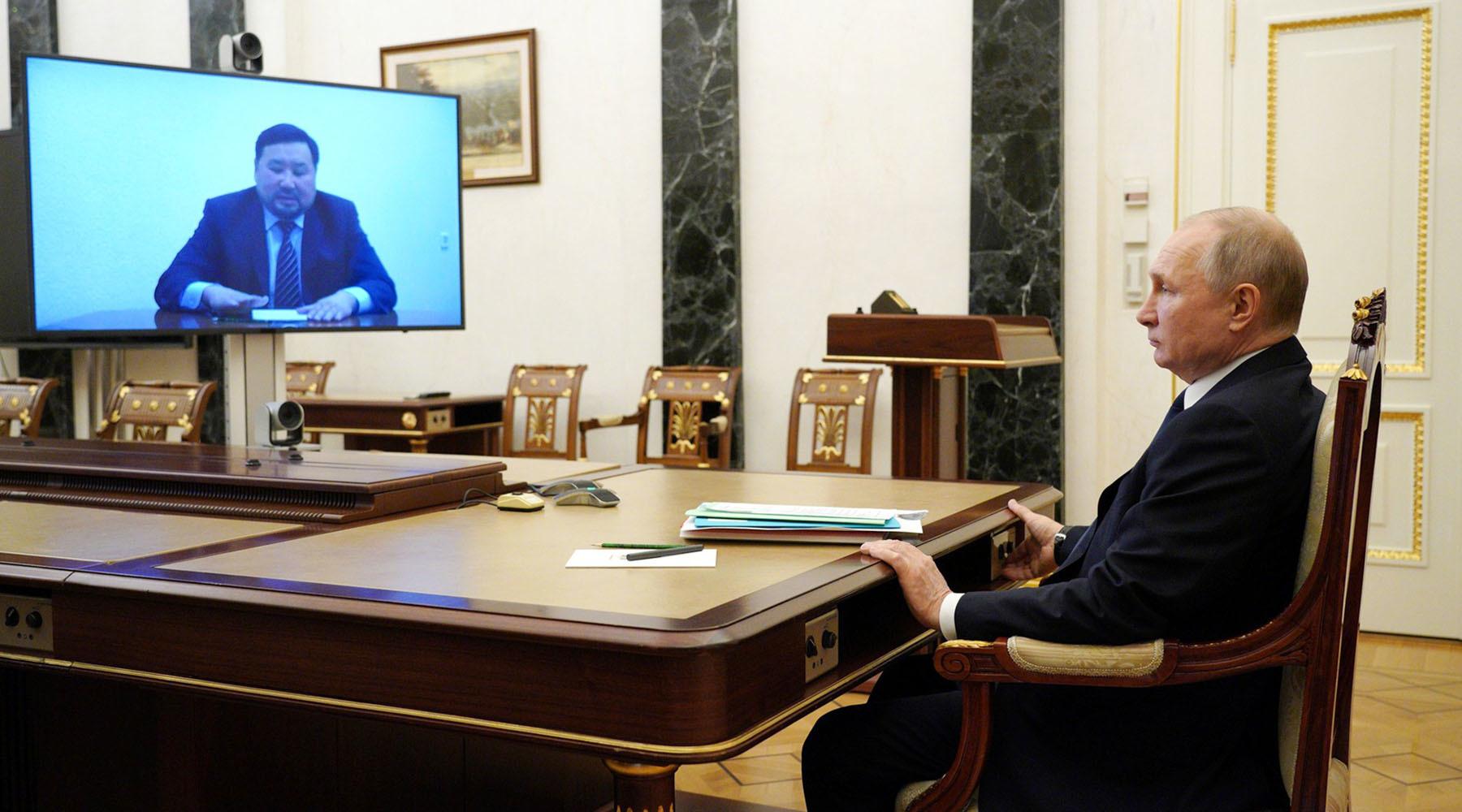 По собственному желанию: Путин принял отставку главы Республики Тыва2