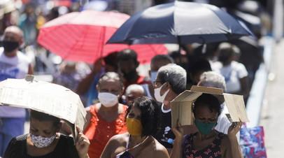 В Бразилии выявили более 90 тысяч случаев коронавируса за сутки